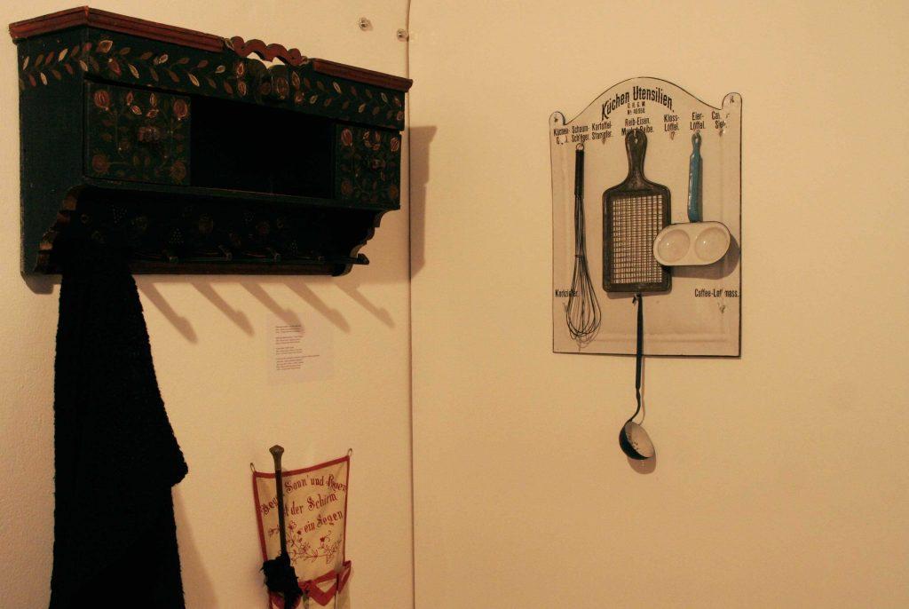 Blick in die Ausstellung über Heimat