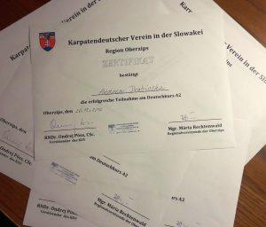 Deutsch-Zertifikate