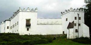 Das Schloss in Nehre/Strážky