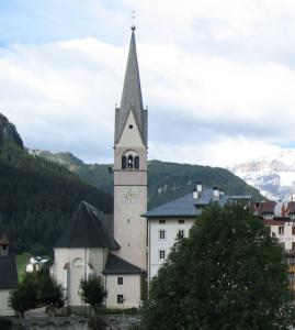 Kirche von Pieve de Livinnalongo