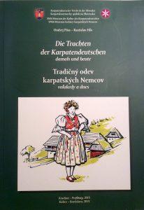 Buch die Trachten der Karpatendeutschen