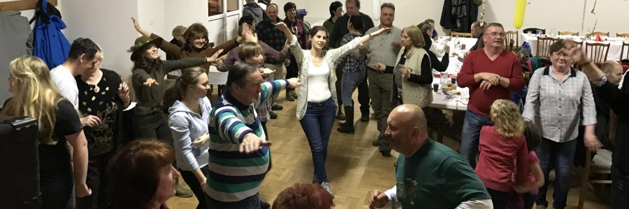 Tanz auf dem Fasching in Schmöllnitz Hütte