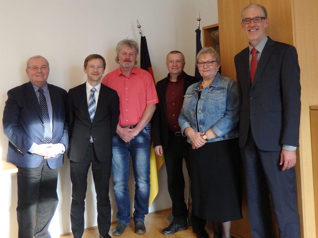 Treffen der KDV-Mitglieder und Schuldirektoren mit Botschafter Bleicker