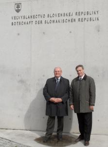 Ondrej Pöss und Bernard Gaida