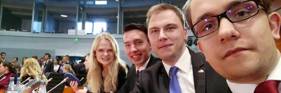 Studenten im Bundestag