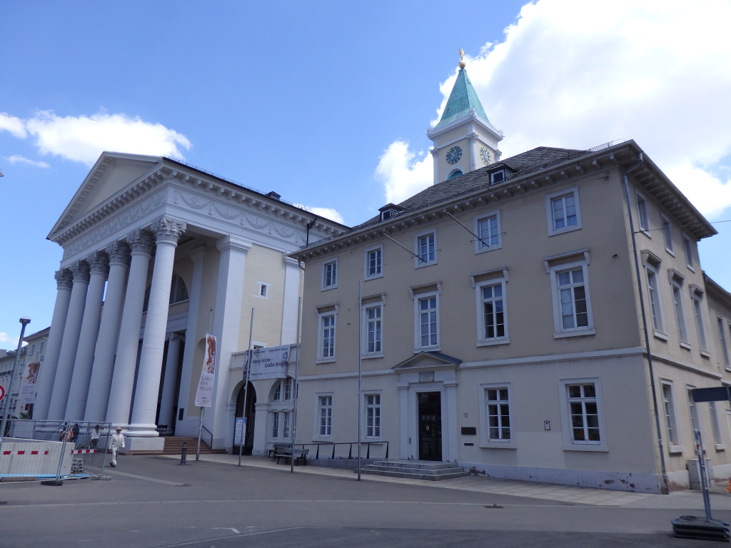 Evangelische Stadtkirche in Karlsruhe