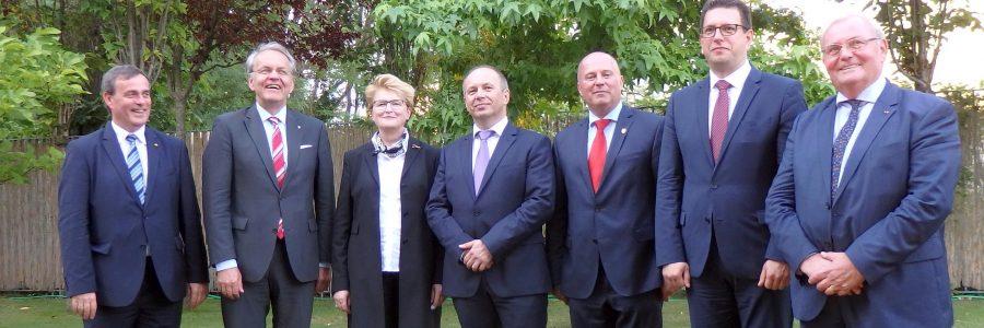 Empfang in der slowakischen Botschaft in Berlin
