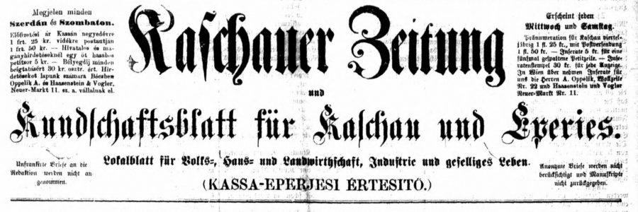Kaschauer Zeitung