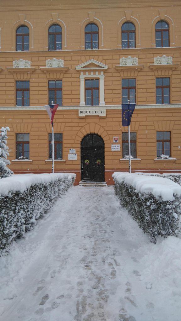 Schule in Kezmarok/Käsmark