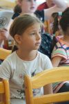 Zuhörende Kinder