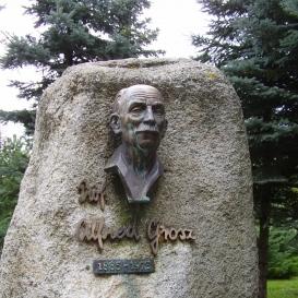 Grosz-Denkmal in Käsmark