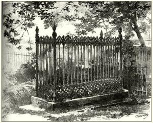 Thökolys erste Grabstätte