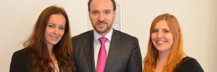 Lucia Urbančoková, Martin Dzingel und Monika Manethová