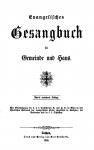 Gesangbuch von Jakob Hönel