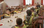Kinder beim Tag der offenen Tür in Krickerhau