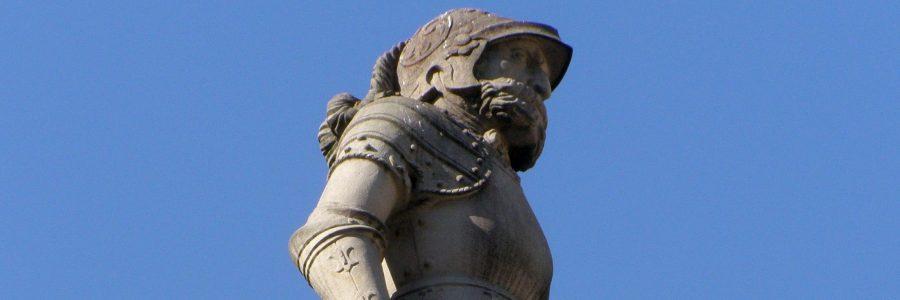 Rolandsbrunnen in Bratislava/Pressburg