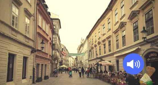 Straßen von Bratislava/Pressburg