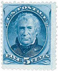 Taylor Briefmarke