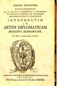 Schwartners Buch zur Diplomatik
