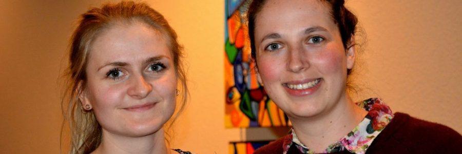 Britta Tästensen und Giuanna Beeli