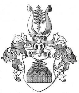 Wappen Augustini ab hortis
