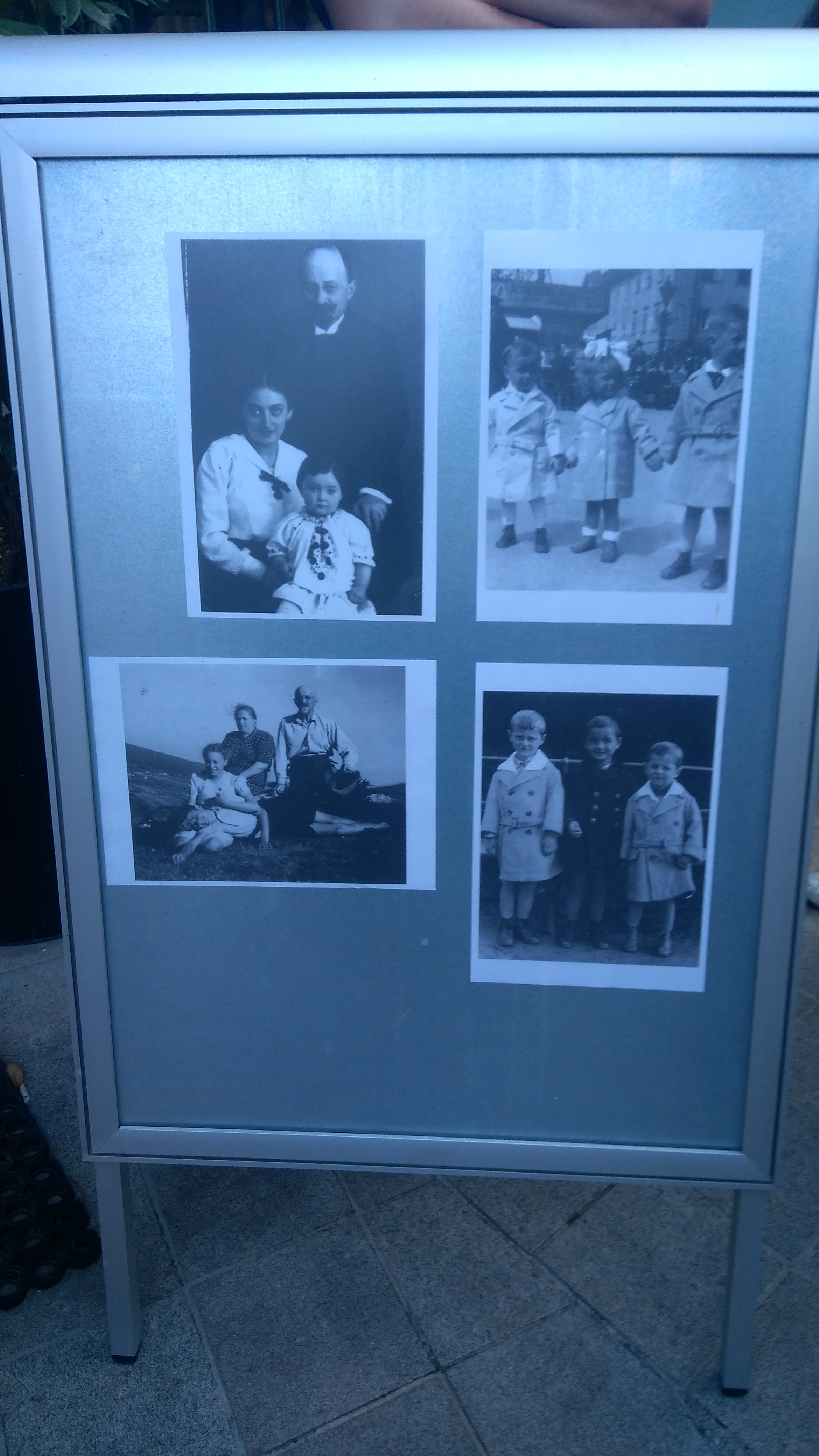Fotos der Familie Gráf