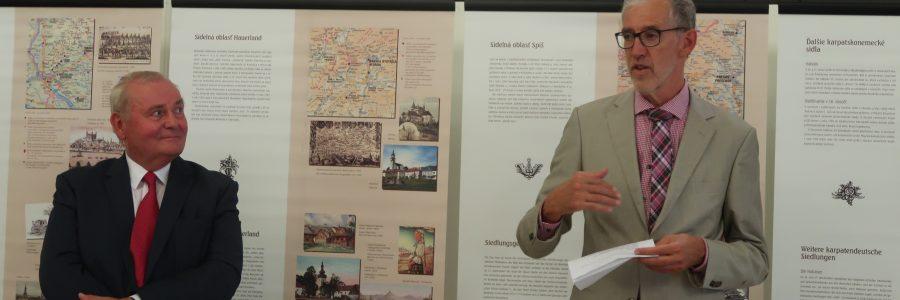 Begrüssung der Gäste durch den deutschen Botschafter Joachim Bleicker