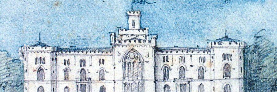 Zeichnung eines Feigler-Gebäudes
