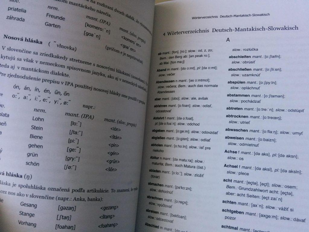 Dreisprachiger Ansatz der Autoren