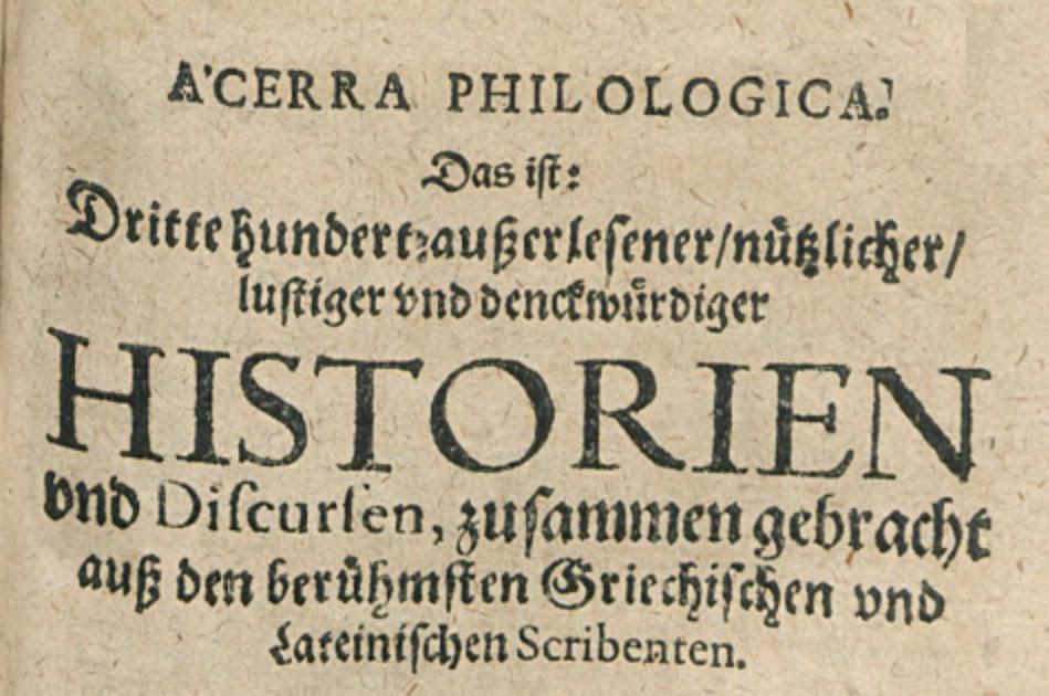 Acerra Philologica