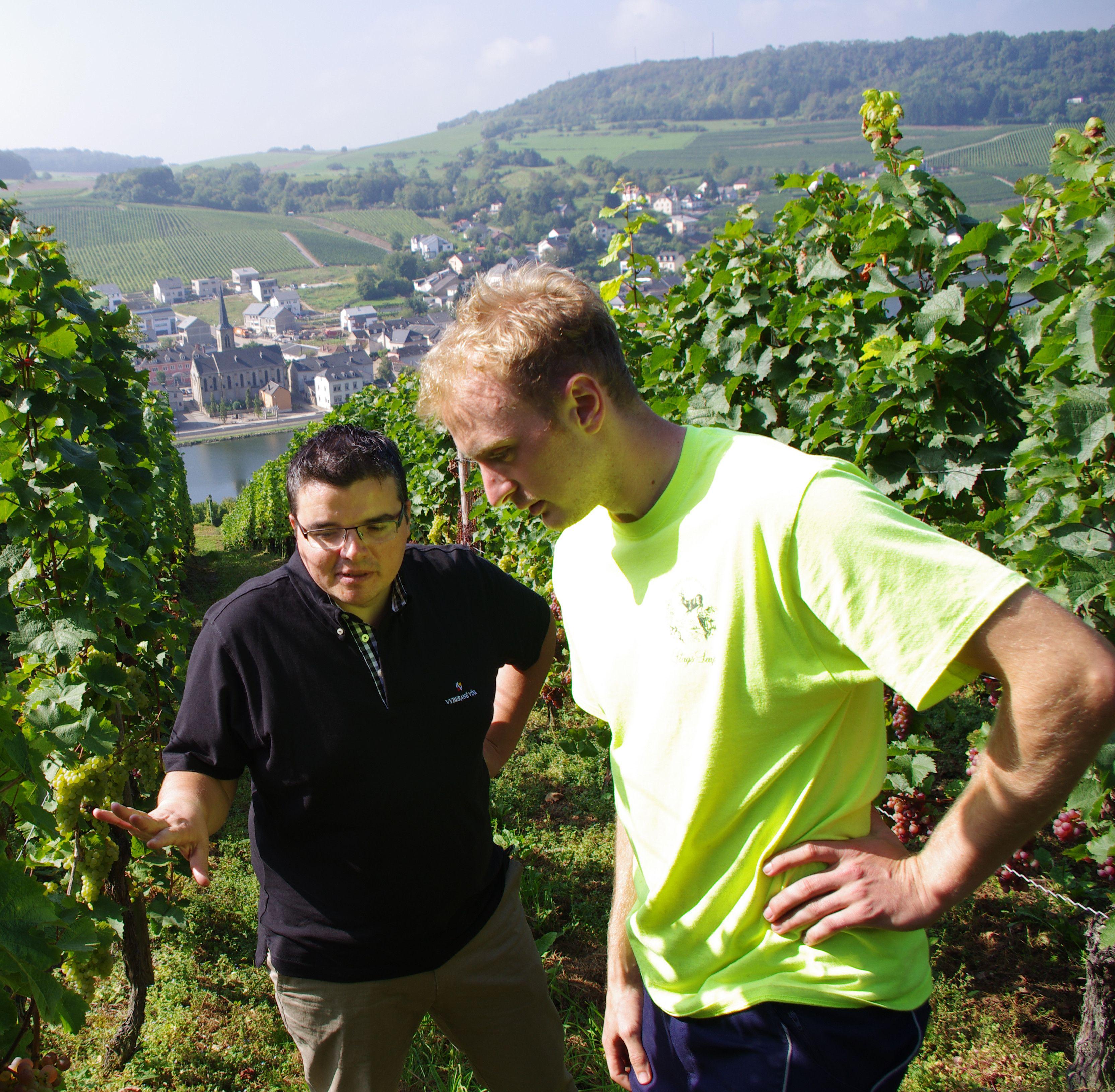 Michal Behun und Philip Apel