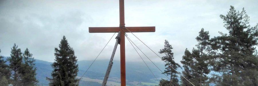 Neues Gipfelkreuz