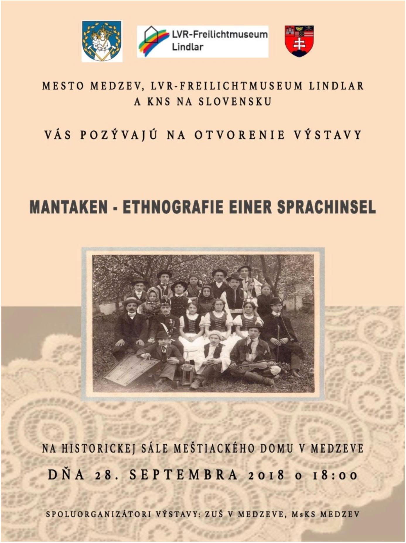 Mantaken-Ausstellung