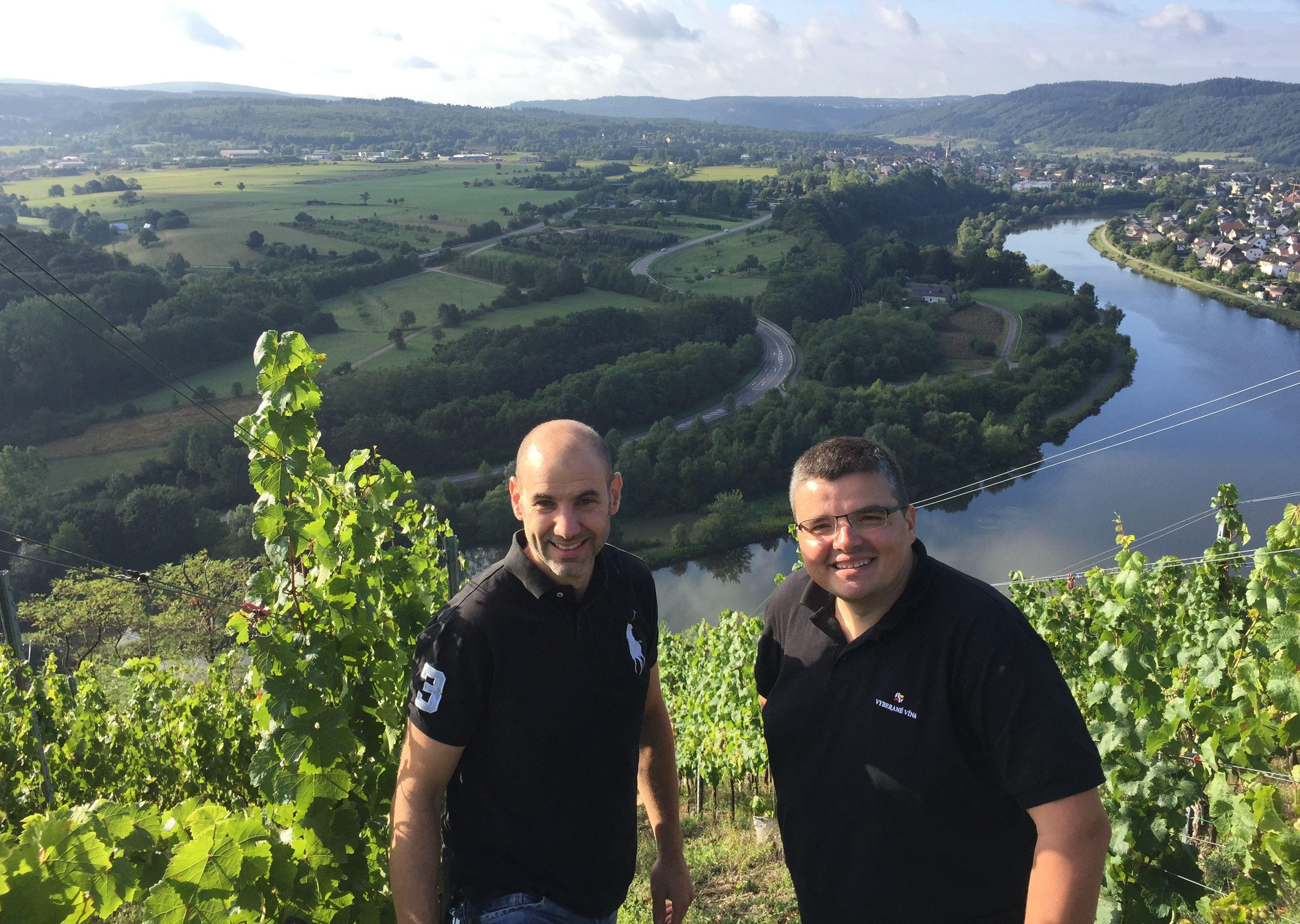 Michal Behun und Peter Lauer