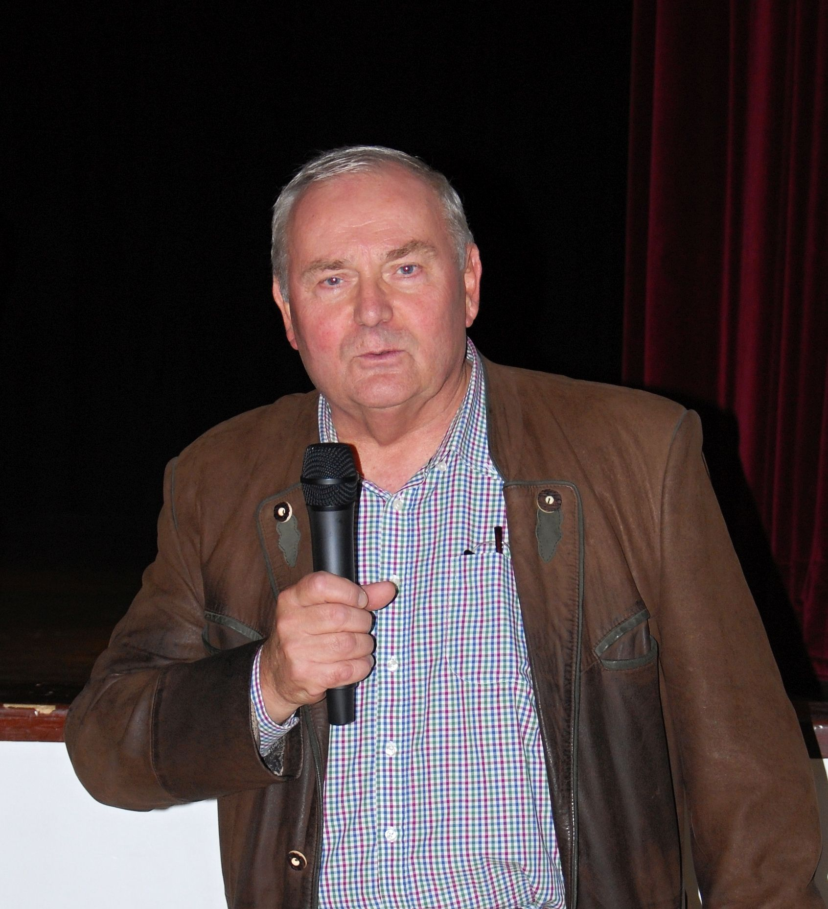 Ondrej Pöss beim Pressburger Treffen 2018