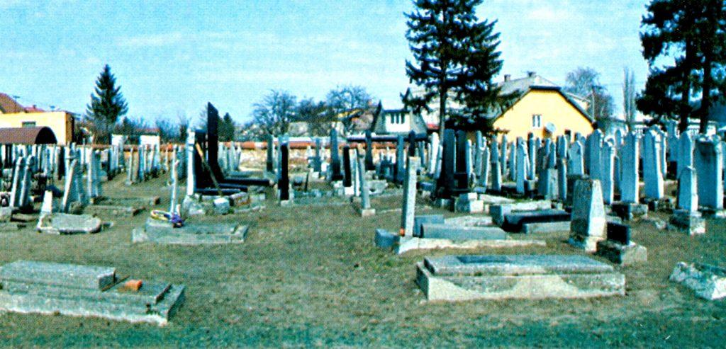 Kesmark Kezmarok jüdischer Friedhof