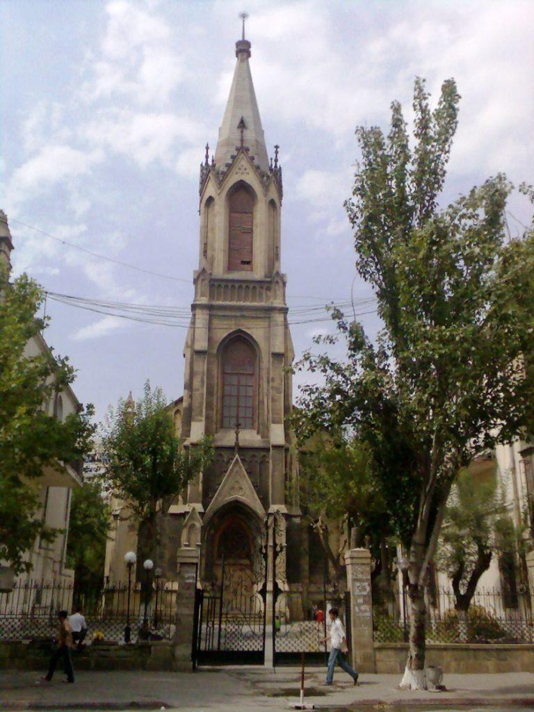 Baku deutsche Kirche