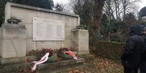 Denkmal für Opfer des Faschismus auf dem Wiener Zentralfriedhof