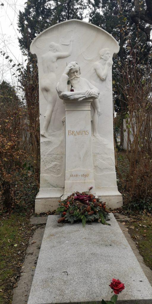 Grab von Brahms in Wien