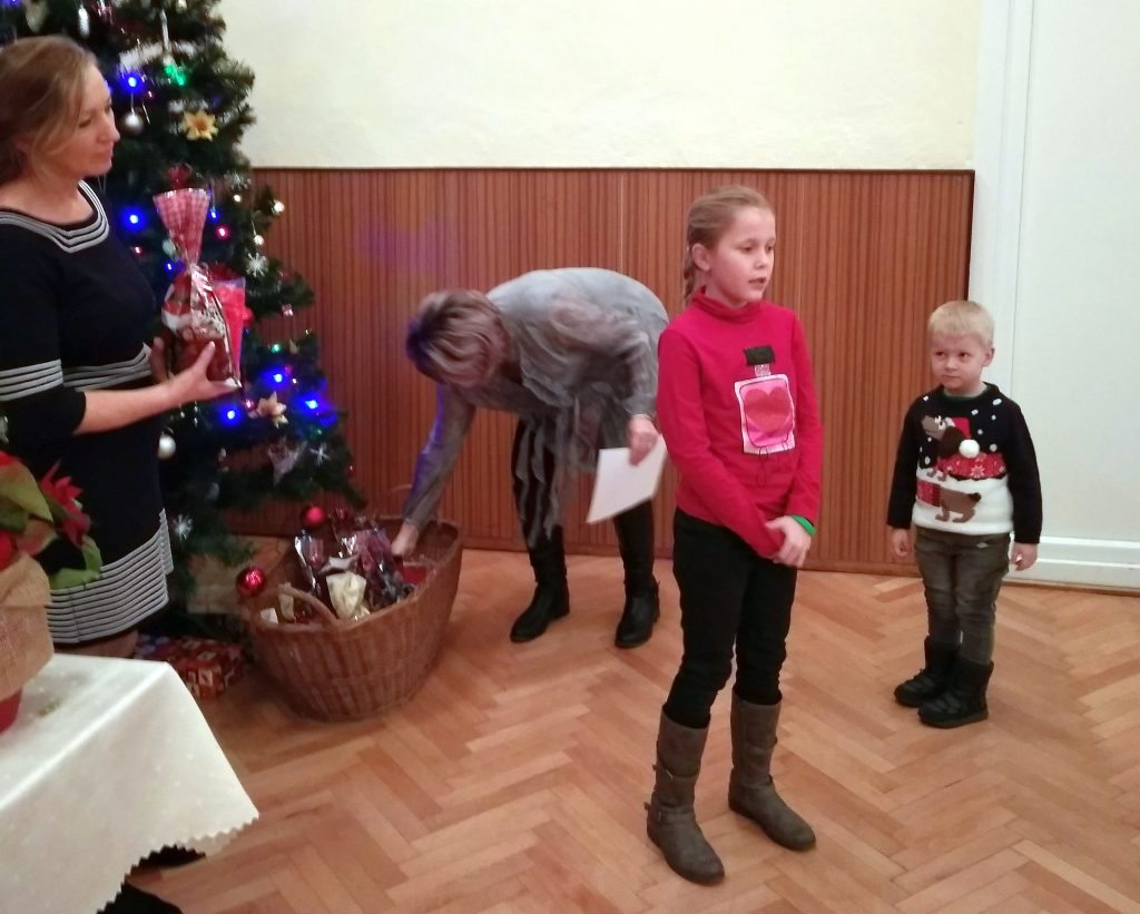 weihnachtsfeier malinova