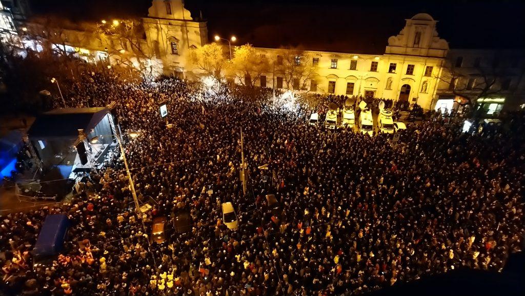 Proteste Jahrestag Jan Kuciak