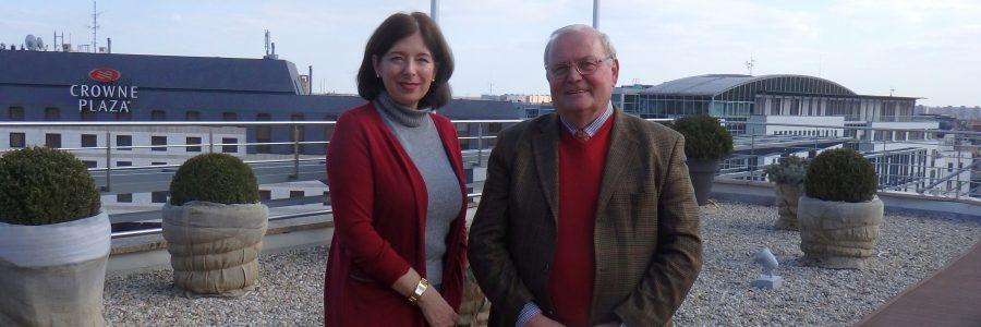 Margit Bruck-Friedrich und Ondrej Pöss