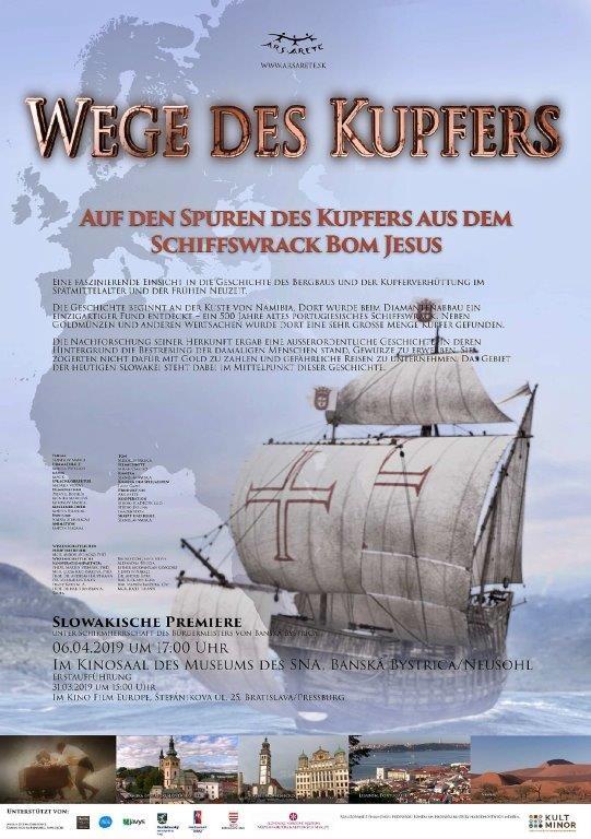 Wege des Kupfers - Auf den Spuren des Kupfers aus dem Schiffswrack Bom Jesus