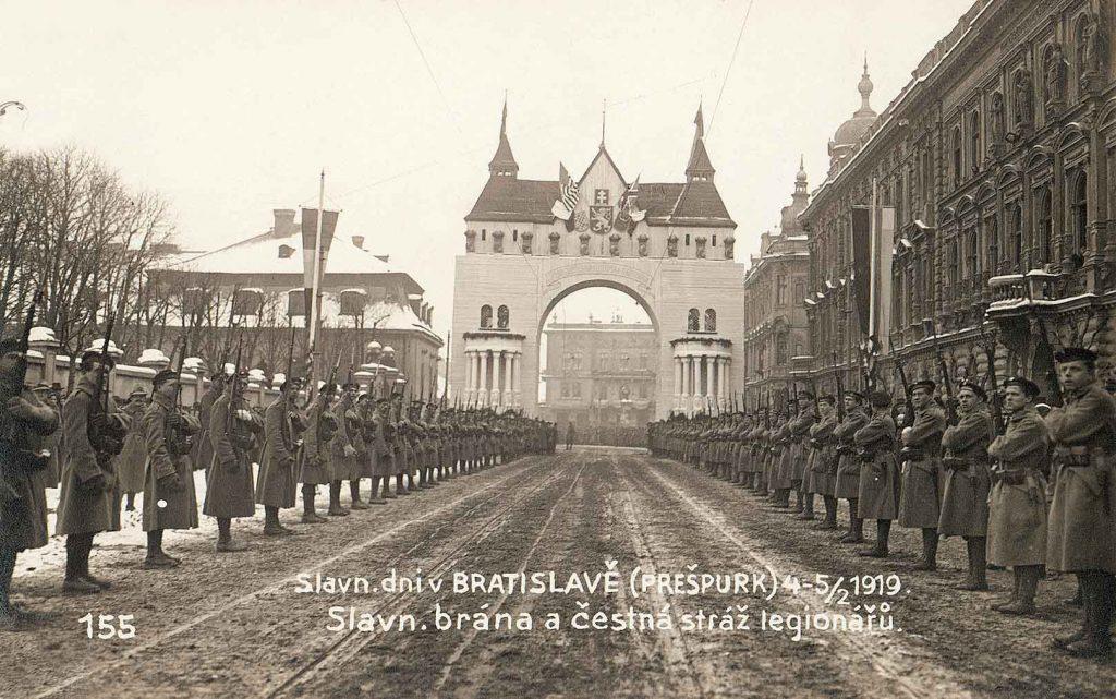 100 Jahre Bratislava Pressburg