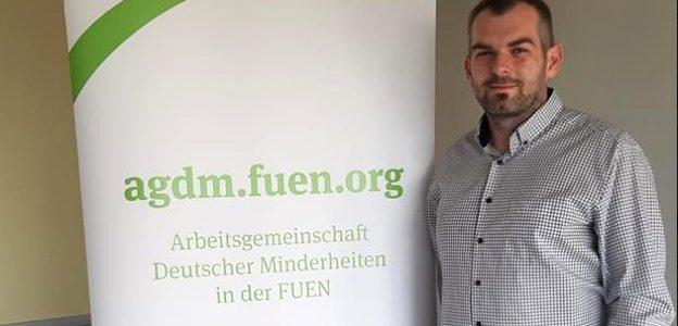 Erster Jugendkoordinator der AGDM Patrik Lompart