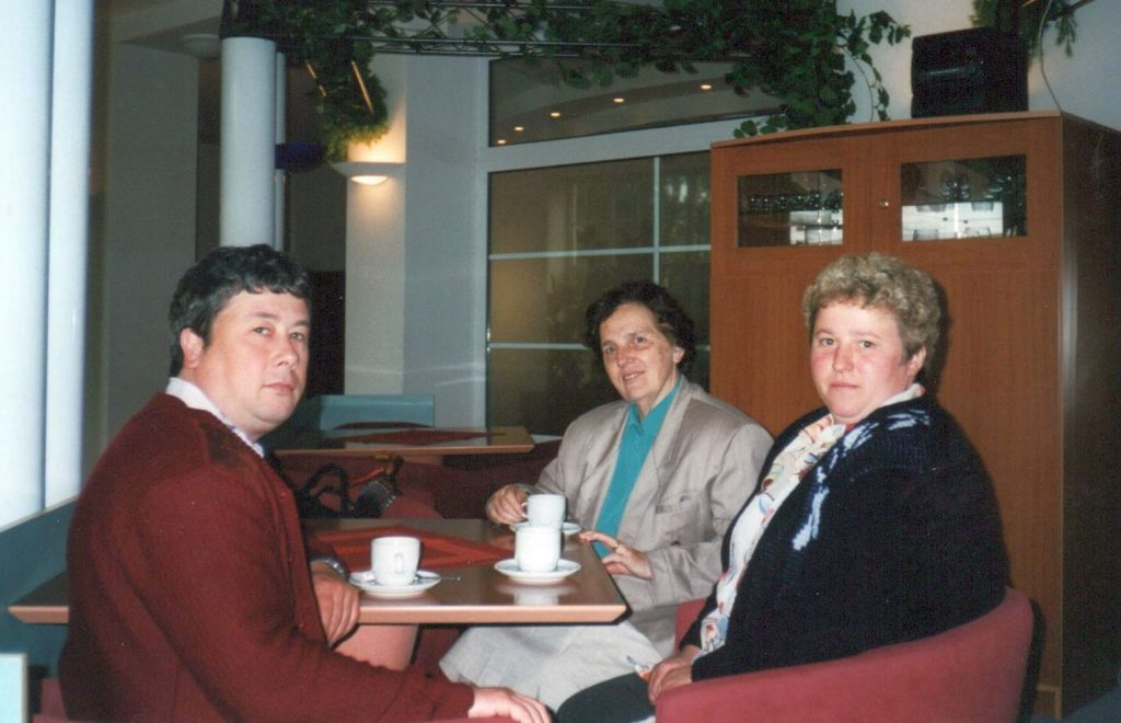 Gabriele Kintzler und Michael Lindner mit Frau