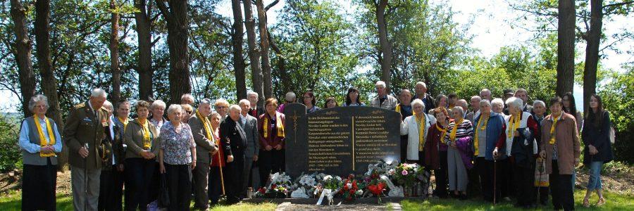 Denkmal beim ehemaligen Lager Novaky
