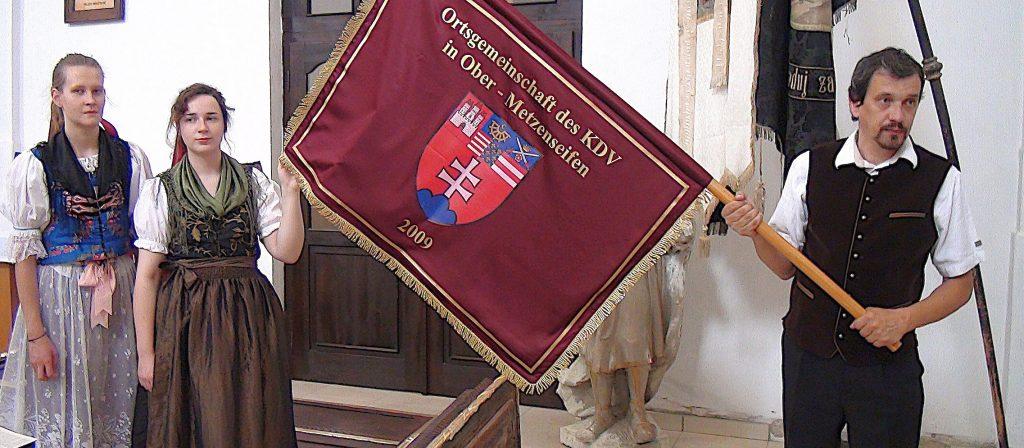 Fahne KDV Ober-Metzenseifen/Vysny Medzev