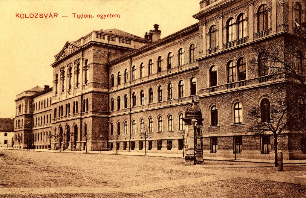 Die Klausenburger Universität um 1900