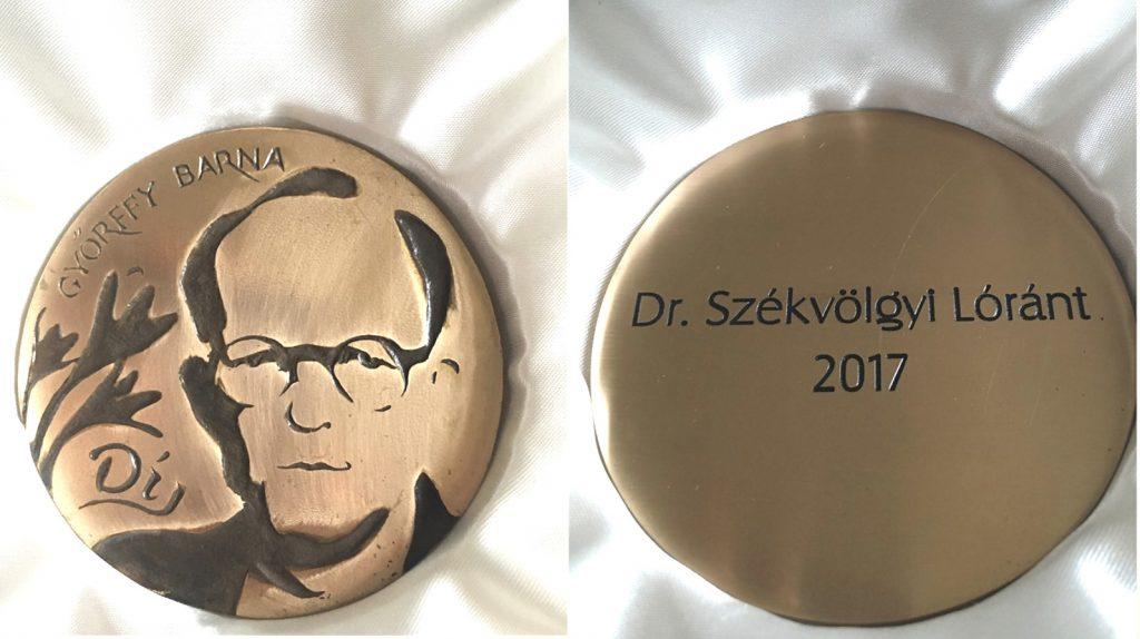 Barna Győrffy-Preis